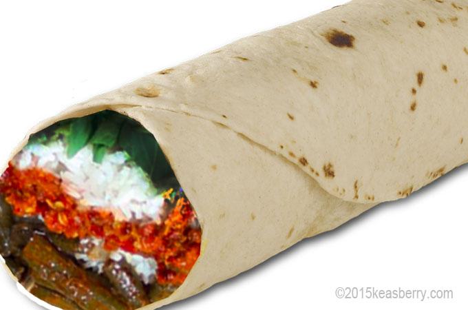 Indo Burrito