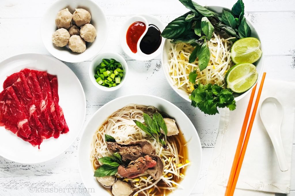 Pho Noodle Soup By Jeff Keasberry